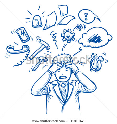 stock-vector-business-man-holding-his-head-in-pain-surrounded-by-work-icons-concept-for-stress-burnout-too-311810141
